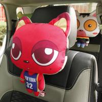 Cat headrest neck pillow car pillow neck pillow car cushion neck pillow cartoon car pillow neck pillow