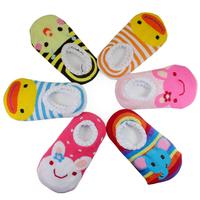 Cute Lovely Antislip Baby Child Unisex Socks Retail Children's Foot Cover Infant Indoor socks 1pair/lot Free Shipping