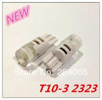 4pcs/lot NEW T10 W5W 194 168 3SMD 2323 LED Auto Car wedge light Width Lamp bulb  FREESHIPPING