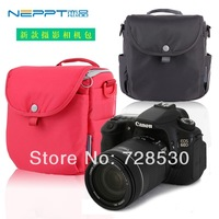 NEPPT 2014 New Design Shoulder Bag for Nikon D600 D800 Canon 60D 70D 600D 700D SLR Camera Bag Free Shipping