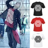 KPOP EXO New Album Overdose High Quality Short-Sleeved T-Shirt TXU295