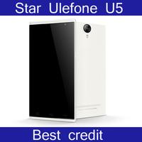 "Free shipping Star Ulefone U5 phone MT6582M 1.3GHz  Android 4.2 1GB RAM 4GB ROM 5.7"" HD Screen 5MP 3G GPS Smart Phone/Kate"