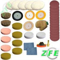 37Pc 3inch polishing pad/buffing pad set for car polisher---M14 Thread