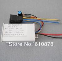 Free ship,10A   PWM DC 10V 24V  60V 450W Positive Negative Reverse Stepless Change Motor Speed Regulator Pump Controller Switch