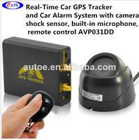Real-Time Car GPS Tracker - Car Alarm Functions, GSM Camera, Remote Control AVP031DD