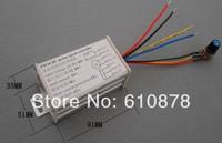 Aluminium Alloy 12A  PWM DC 10V 24V 24V 60V 600W Positive Negative Reverse Stepless Motor Speed Regulator  Controller Switch