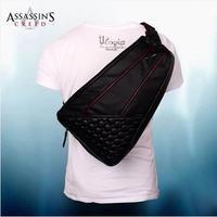 Assassins Creed Desmond Messenger bag PU Shoulder Travel Messenger Shoulder Gamer Black Flag Back pack Bag