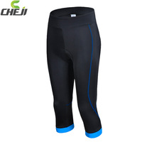 Newest Design 2014 Women cycling pants 3/4  with Breathable Bike pants or Outdoor Riding Pants