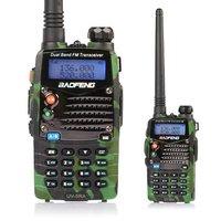 Baofeng UV-5RA Ham Two Way Radio 136-174/400-520MHz Dual-Band DTMF 5W Amateur WalkieTalkie Transceiver Camouflage free earphone