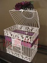 Presente ferro forjado decoração interior acessórios de moda aves gaiola do papagaio gaiola 2(China (Mainland))