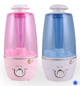 As novas luzes umidificador super silencioso grande quantidade de nevoeiro proteção escassez de água nebulizador máquina hidratante(China (Mainland))