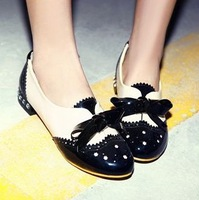 2014 Fashion Candy Color Cute Low-Heeled Shoes Women Flat Boat Shoes Canvas Shoes For Women Oxfords Rhinestone Flats Shoes 34-43