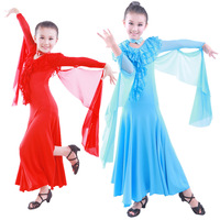 HI-32 Ballroom dance dress Tango dresses Modern girls Performance dress Flamenco Standard latin ballroom dancing dresses