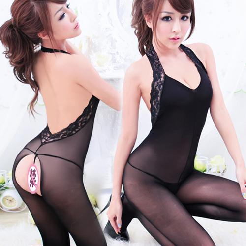 Las medias elegantes de Pornstar parten la entrepierna