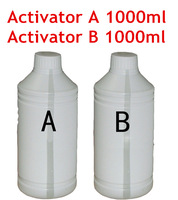 Free shipping Activator A and B each 1000ml for Water Transfer Printing Film/hydrographic film, decorative material