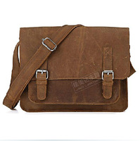 crazy horse leather handbags wholesale man cowhide leather vintage Business shoulder bag hand bag men messenger bags men's bag