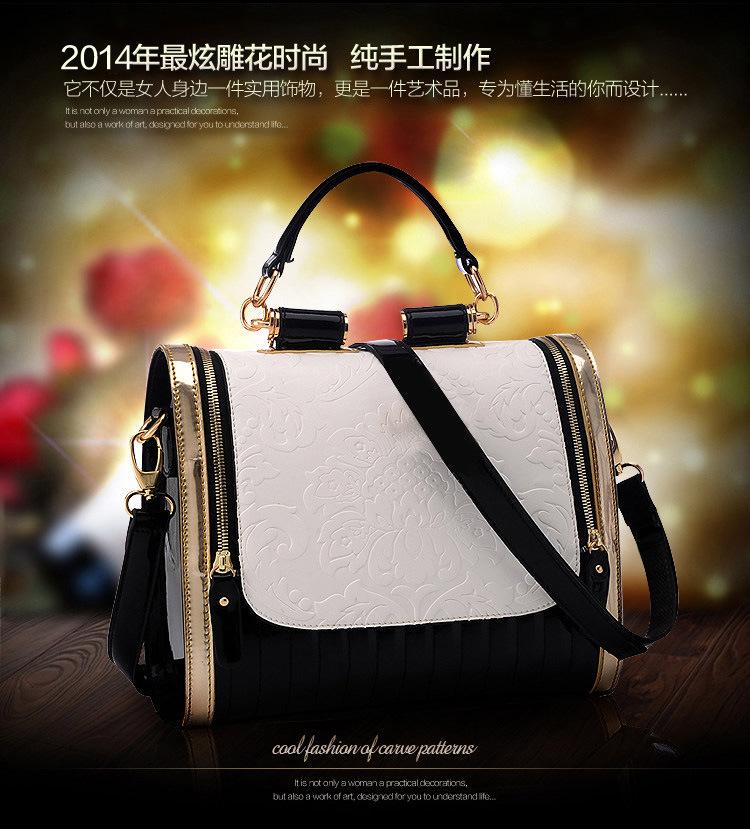 Bugs Bunny bag 2014 new European and American women's singles shoulder bag Messenger bag leisure bag retro handbags wholesale(China (Mainland))