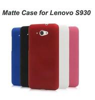 Matte Premium Hard Shield Shell Back Cover Case For Lenovo S930 Free Shipping