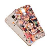 One Piece - All Members Pattern Battery Back Case Cover Skin For Samsung Galaxy S5 I9600       SB