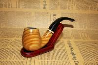 Green sandalwood ring smoking pipe tobacco briar piece set