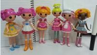 Free Shipping 2014 New 6pcs/lot Value MGA Mini Lalaloopsy Doll Angel  Toy Kids Toys for Girls Gift