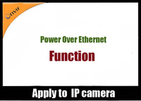 POE(Power Over Ethernet) Function  For 1.0MP/1.3MP/2.0MP/3.0MP/5.0MP  IP Camera
