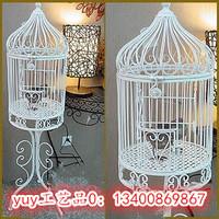 Fashion iron birdcage floor decoration bird cage Large parrot starlin9 birdcage bird cage props