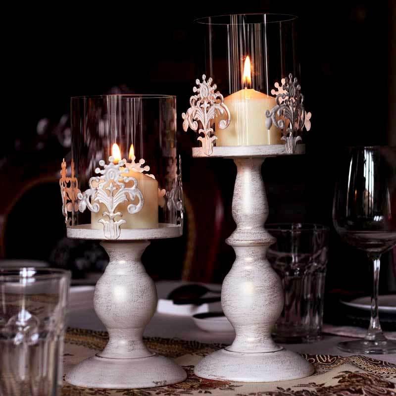 Ferro forjado vela moda clássica decoração vintage esculpida acessórios para qualidade romântico(China (Mainland))
