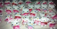 Hello Kitty Toys Small Pendant PPT Cotton MINI Phone Decoration Toys Hot Sale 7CM  30PC/Lot