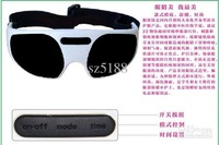 Wholesale - 30pcs Magnetic Eye Care Electric Alleviate Fatigue Massager Eye Mask Forehead Massager ,Eye nurses