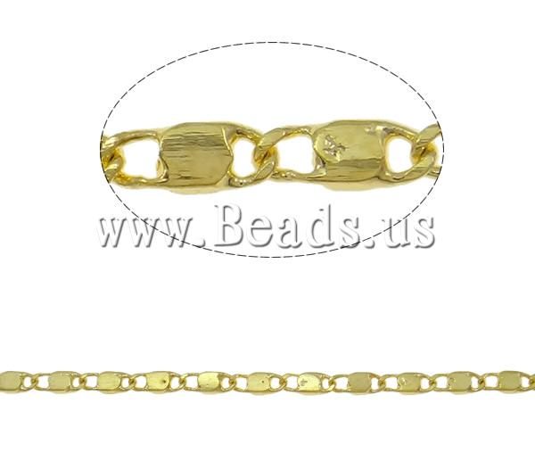 Free shipping!!!Brass Chain,Inspirational, gold color plated, nickel, lead & cadmium free, 1.80x4.70x0.40mm(China (Mainland))