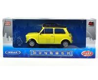 Wyly mini cool school 1300 alloy car model yellow
