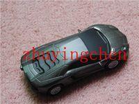 Retail Metal car USB Flash Drive thumb pen drives memory stick 4GB 8GB 16GB 32GB gifts box free drop shipping 2gb 64gb u disk