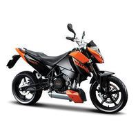 Maisto 690 ktm duke alloy motorcycle model orange birthday gift