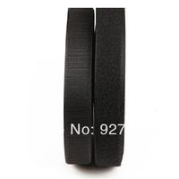 """(CM775) 25 Meters Black Sew On Velcro Roll 3/4"""" Wide Hook Loop Tape 20mm"""
