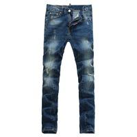 Free Shipping new 2014 disel blue designer jeans men jeans warm style famous brand jeans men 8009