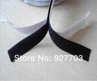 """(CM778) Lot 25 Meters Black Self Adhesive Velcro Roll 1"""" Wide Hook Loop Tape 25mm"""