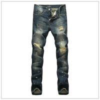 New Arrival 2014 Free shipping ! fashion casual Men's jeans brand jeans denim new stylish,Men's pants