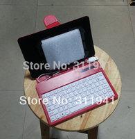 New 7'' adjustable  Keyboard case  7'' Keyboard  5.5'' magic adjustable leather case for 7 inch Tablet 6 inch tablet colorful
