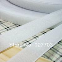 """(CM781) 25 Meters White Sew On Velcro Roll 3/4"""" Wide Hook Loop Tape 20mm"""