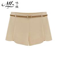 Women's summer chiffon shorts shorts