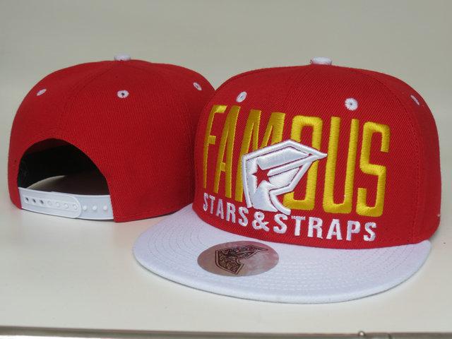 Hiphop Famous Stars & Straps Snapback Hat red white mens women fashion adjustable snapbacks hats cheap sale freeshipping(China (Mainland))