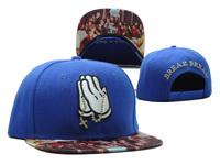 2014 new fashion hands blue adjustable baseball snapback hats for men/women sport hip hop people brim sun cap good quality cheap