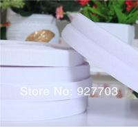 """(CM782) 25 Meters White Sew On Velcro Roll 1"""" Wide Hook Loop Tape 25mm"""
