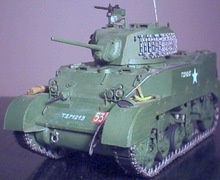 wholesale paper tank models