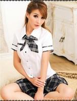 Pure cute school uniform student uniforms temptation role-playing game