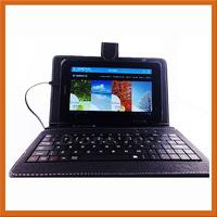 Hot!!! 7 inch keyboard holster Universal Keyboard Universal Tablet PC external keyboard