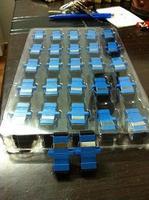 special wholesale SC Fang Fang  transfer fiber coupler, SC adapter FC fiber optic adapter st fiber interface 1000pcs/lots