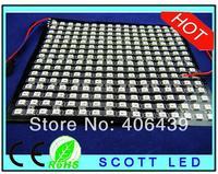 WS2812B Pixel panel light;16*16 Pixels WS2812B 4pins Chip LED Digital Flexible Panel Light; DC5V input;Black PCB;17CM*17CM