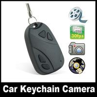 DVR 808 keychain Hidden camera,Portable Car key cameras Mini hidden DVR